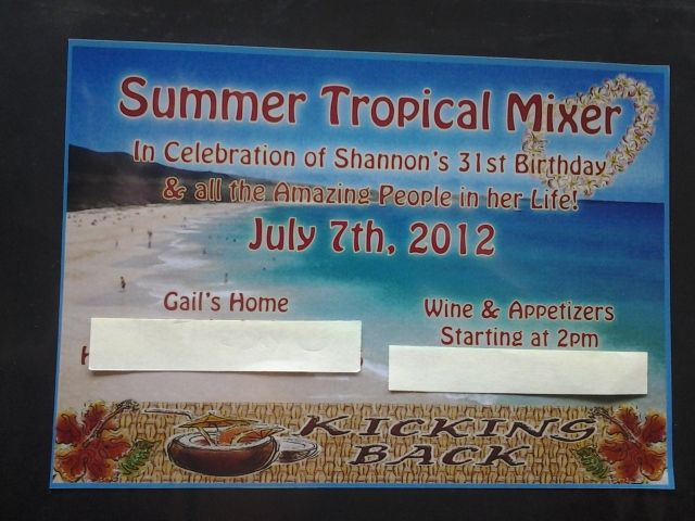 Tropical Mixer
