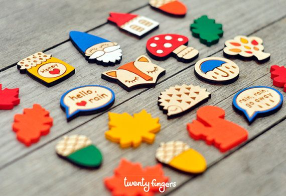 For Katie - Hey, I found this really awesome Etsy listing at https://www.etsy.com/listing/108482043/lovely-wooden-brooch-set-of-3-pieces