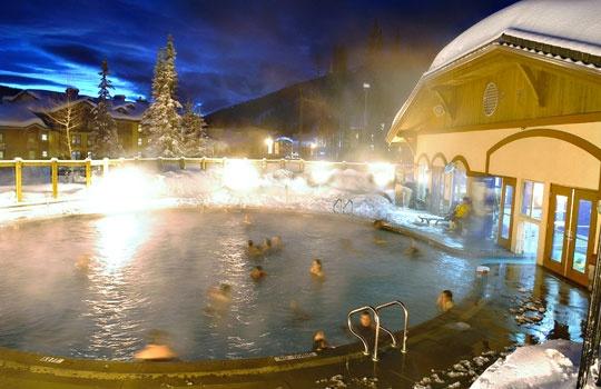 Pool at The Sun Peaks Sports Centre, Sun Peaks Resort, British Columbia (© Adam Stein/Sun Peaks Resort)