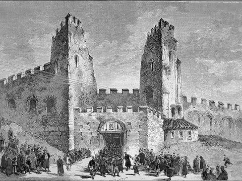 Μια 3D απεικόνιση των μεγάλων πυλών των τειχών που χάθηκαν - Parallaxi Magazine