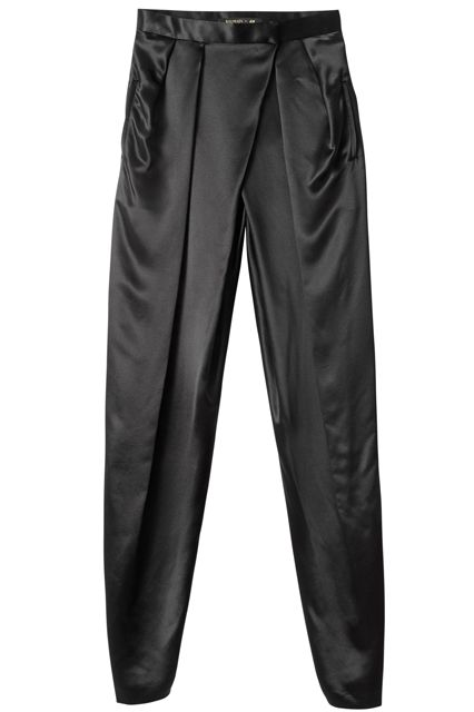 Updated: Every Single Piece From The Balmain x H&M Collab #refinery29  http://www.refinery29.com/2015/10/95805/balmain-hm-collaboration-lookbook#slide-22  Balmain x H&M Pants, $99, available at H&M....