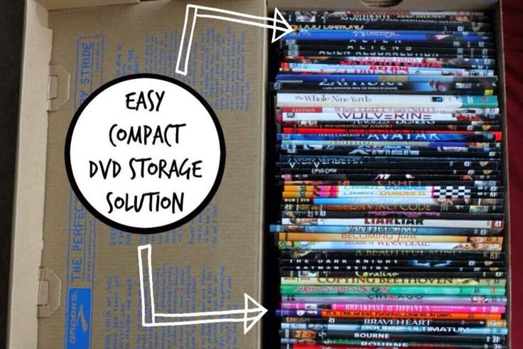 Easy Compact DVD Storage Solution