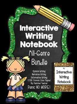 Bundle up with my Interactive Writing Notebook!!! This is a bundled product that offers all of my Interactive Writing Notebooks in one complete bundled product.  These common core aligned units all culminate with grade specific standards-based rubrics and will give your students RIGOR and GUIDANCE toward completing different genres of writing throughout the year!!
