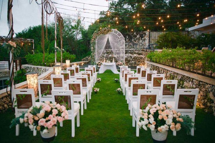 Gorgeous setting for a Bali Wedding