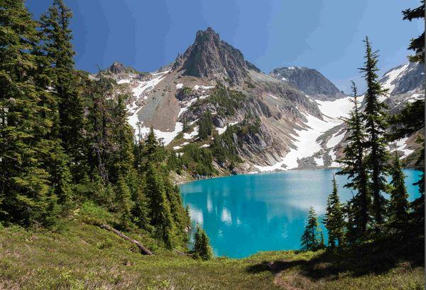 Deception Pass, Marmot Lake & Jade Lake