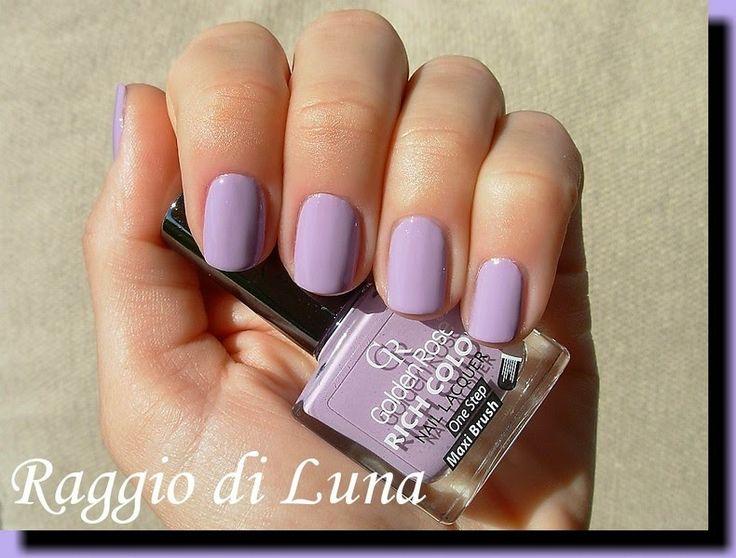 Raggio di Luna Nails: Golden Rose Rich Color n° 103