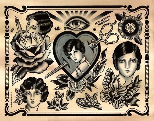 tattoo flash #tattoo tattoo-beauties