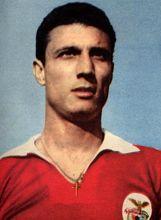 Cavém. 14 épocas no Benfica (1955/1969) Jogos: 416 Golos: 103 Títulos: 9 Campeonatos Nacionais, 5 Taças de Portugal e 2 Taças dos Campeões Europeus.