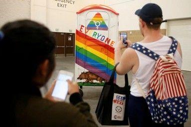 Opponents target North Carolina transgender bathroom law - http://conservativeread.com/opponents-target-north-carolina-transgender-bathroom-law/