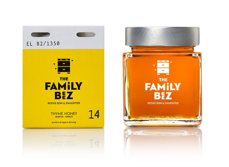 The family beez, honey of limited production - mousegraphics.gr