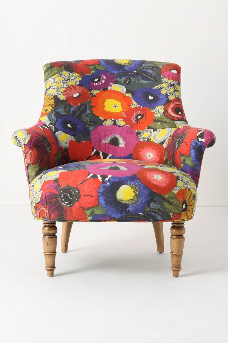 Bloomin' marvellous chair!