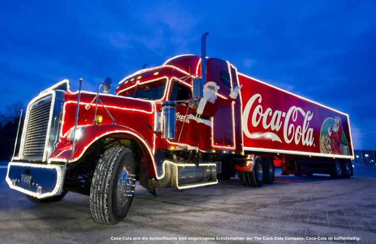 coca cola werbung | Coca-Cola Weihnachtstruck: Coca-Cola Deutschland