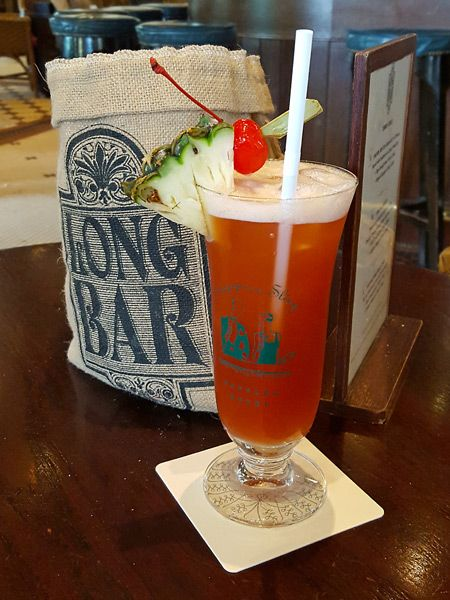 Sip a Singapore Sling at the Raffles Hotel - one for your Singapore bucket list!