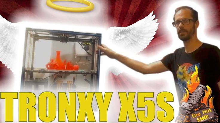 Tronxy X5S 3D Printer Review! MASSIVE Printer for $264!