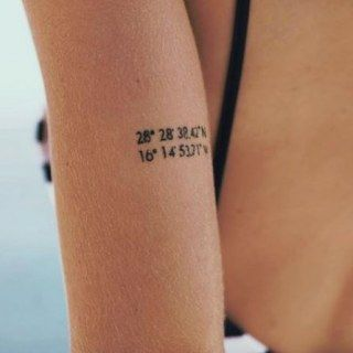 Wanderlust & Wanderlust: These little travel tattoos make you want to travel