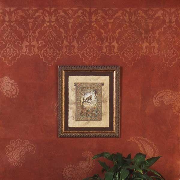 Persian Lace Border Stencil Furniture StencilStencil WallsWall