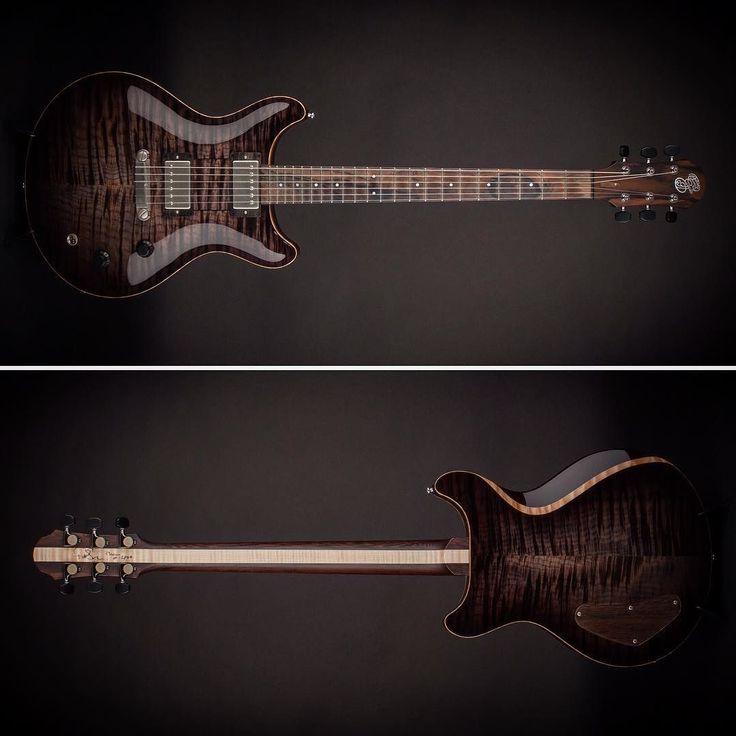 Just Arrived - @pjeggleguitars Macon Twin! #itsahighendguitarthing #guitar #guitargear #guitarra #mapletop #guitarist #guitarporn #macon