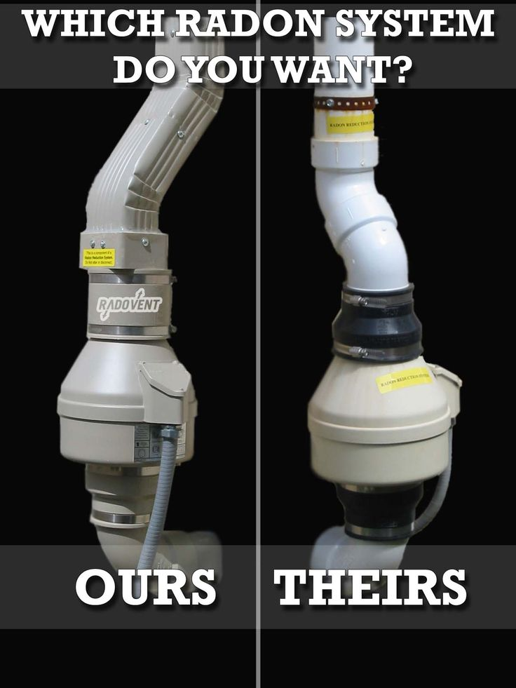 An Important Point About Radon Mitigation Systems: Most Of Them Are Ugly.  They Involve