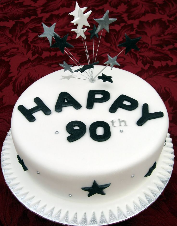 Cake Decorating Ideas For A 90 Year Old : 1000+ ideas about 90th Birthday Cakes on Pinterest Cakes ...