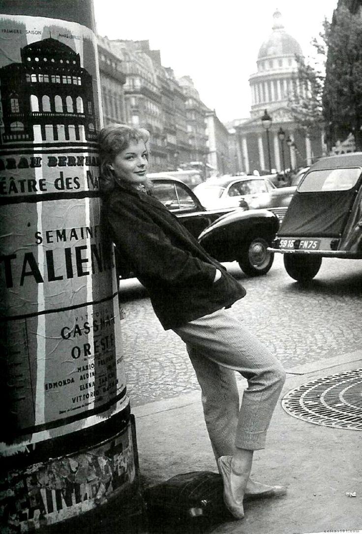 """Paris 50s """"Romy Schneider"""""""