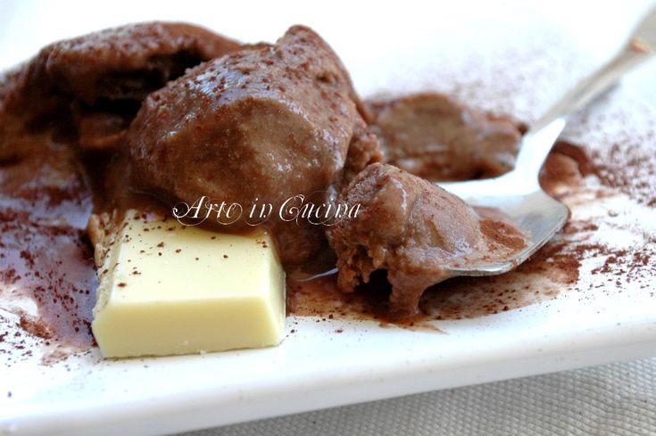 Gelato al cioccolato e yogurt