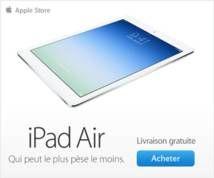 iPad Air Banner ad