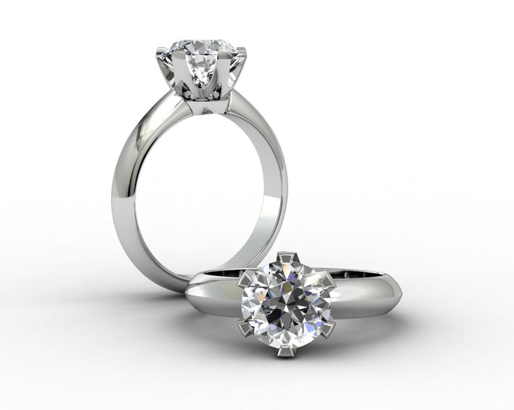18ct Platinum Engagement Ring