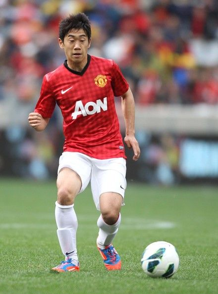 Shinji Kagawa - Japanese footballer who currently plays as attacking midfielder for Manchester United and the Japanese national football team.