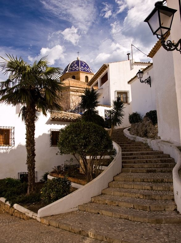 Altea, Alicante / Comunidad Valenciana, Spain. Photo by: Ole-Henning Svendson (500px.com)