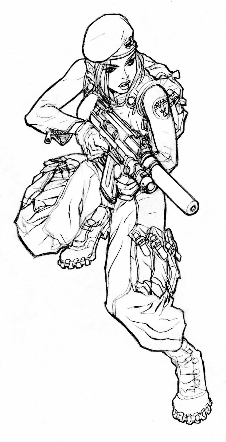 resident evil 5 jill valentine coloring pages | Special_Forces_by_Dingo107.jpg 800×1,566 pixels | Knights ...