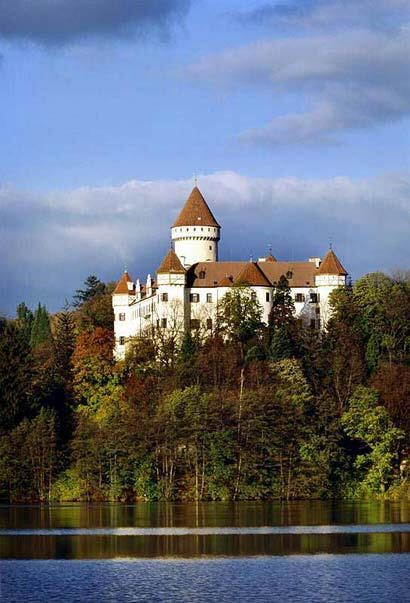 Castle Konopiste, Czech Republic. Located in the Czech Republic, about 50 km (30 mi) southeast of Prague, outside the city of Benešov. It has become famous as the last residence of Archduke Franz Ferdinand of Austria, heir of the Austro-Hungarian throne, whose assassination in Sarajevo triggered World War I.