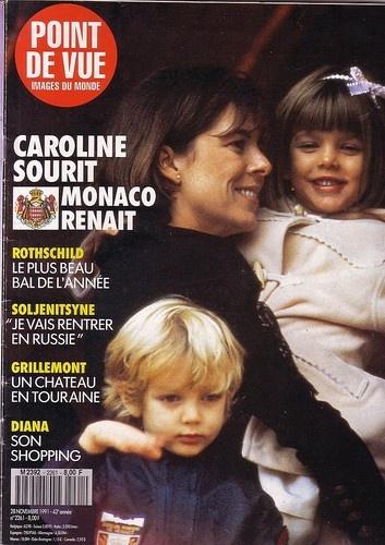 point de vue n°2261 caroline de monaco Charlotte 28 novembre 1991