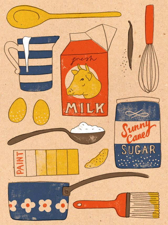 Harriet Seed - Editorial illustration for Eat Me magazine / http://www.harrydrawspictures.com