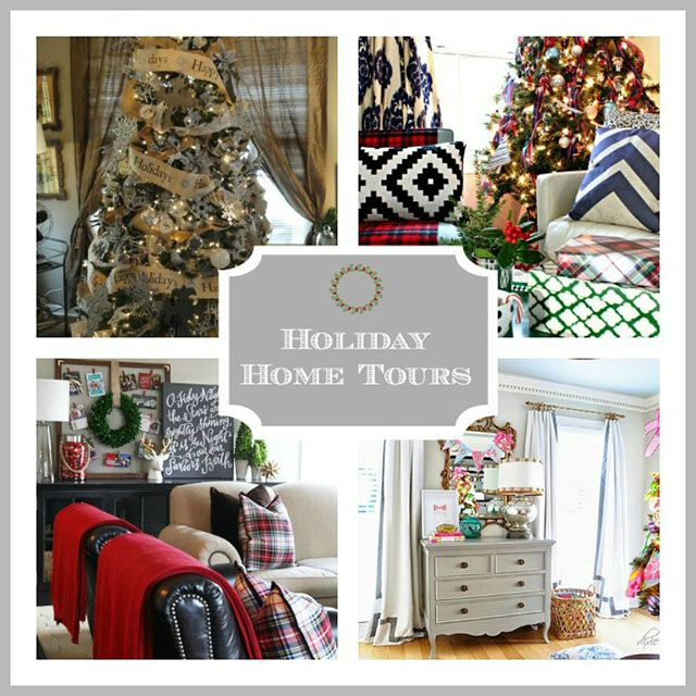Beautiful holiday home tours--all in one place!