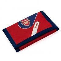 Arsenal FC Wallet             EverythingEnglish.com #AFC #ArsenalFC #ArsenalFootballClub #Gunners #Gooners #EmiratesStadium #EnglishPremierLeague #EPL #Football #SoccerGear #EverythingEnglish
