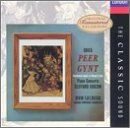 Grieg: Peer Gynt; Piano Concerto in A minor, Op. 16:   1. Peer Gynt, Op. 23: Prelude, Op. 23 No. 1 2. Peer Gynt, Op. 23: Morning Mood, Op. 23 No. 13 3. Peer Gynt, Op. 23: The Death Of Ase, Op. 23 No. 12 4. Peer Gynt, Op. 23: Anitra's Dance,Op. 23 No. 12 5. Peer Gynt, Op. 23: In The Hall Of The Mountain King, Op. 23 No. 7 6. Peer Gynt, Op. 23: Ingrid's Abduction And Lament, Op. 23 No. 4 7. Peer Gynt, Op. 23: Arabian Dance, Op. 23 No. 15 8. Peer Gynt, Op. 23: Peer Gynt's Homecoming, Op. ...