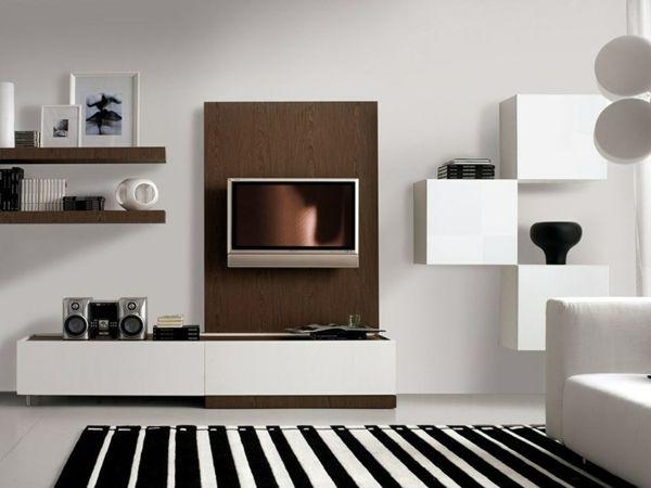 Wohnwand weiß hochglanz mit holz  Die besten 25+ Wohnwand weiß hochglanz Ideen auf Pinterest ...