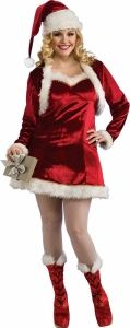 Santas Helper Costume Adult Plus Size  at Nightmare Factory