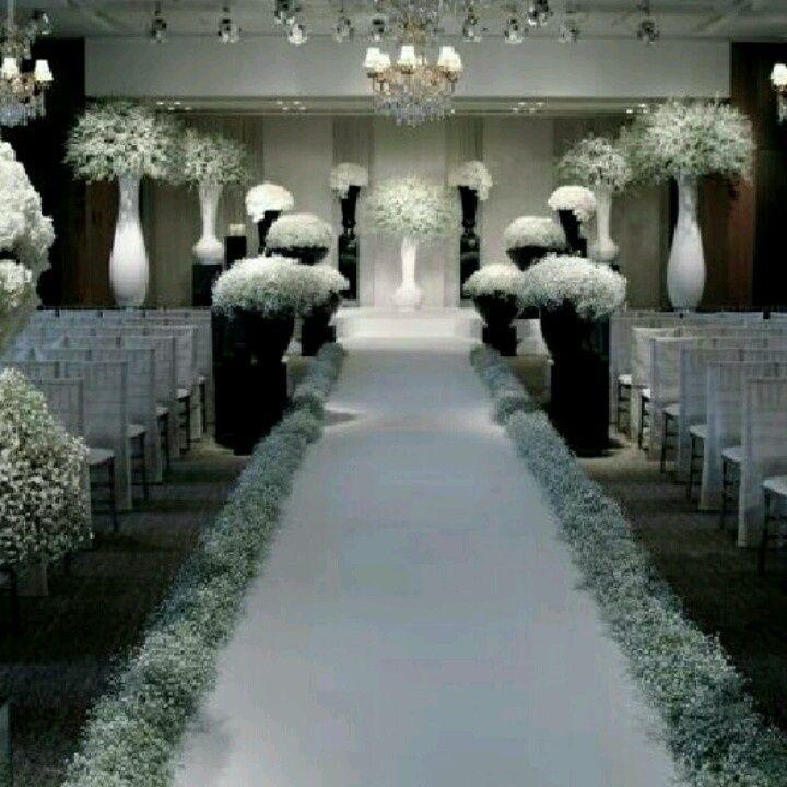 black white purple wedding reception%0A Wedding flower inspiration the Jeff Leatham Look white and black and  Reception  Weddings