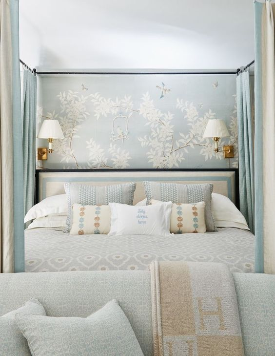 Eye Candy Pinterest Favorites This Week The English Room Elegant Bedroom Decor Blue Master