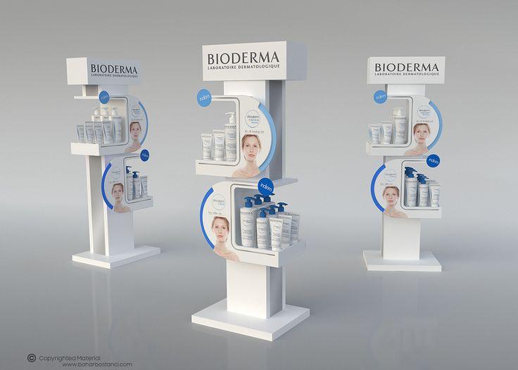 Bioderma Atoderm POP Display on Behance