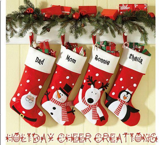custom christmas stockings - Custom Christmas Stockings