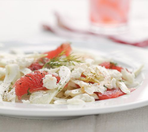 Salade de pamplemousse rose et fenouil | Photo Jean Longpré