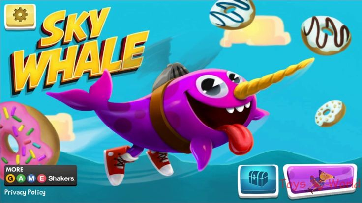 Game Shakers Sky Whale High Score | Nickelodeon Jr Fun Kids Game for Kids