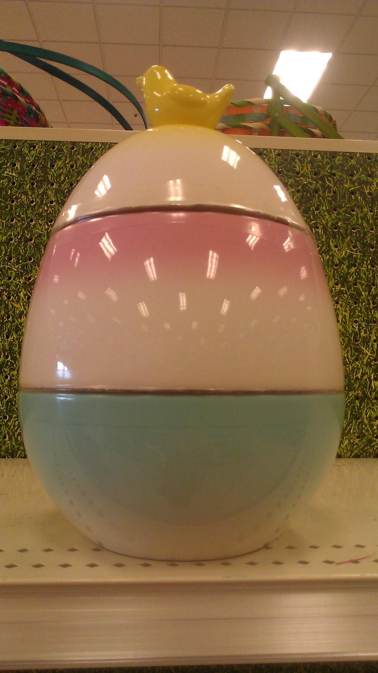 81 best easter spring valentine or st patricks day cookie jars easter egg cookie jar by target negle Choice Image