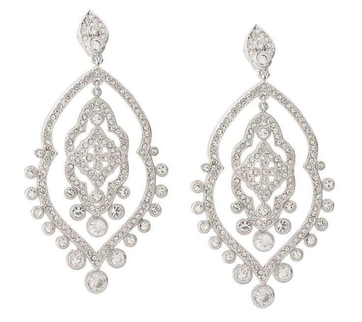 Red Carpet Chandelier: Nadri Limited Edition Red Carpet Inspired Earrings