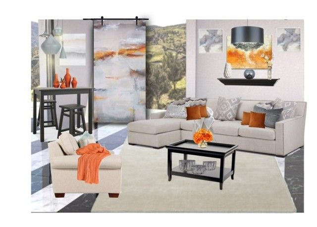 """""""Contemporary colorsplash"""" by rachelbarkhodesigns ❤ liked on Polyvore featuring interior, interiors, interior design, home, home decor, interior decorating, &Tradition, Demeter Fragrance Library, Care By Me and Ballard Designs"""