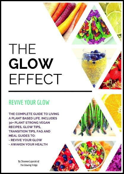 The Glow Effect' is a beautifying ebook and plant based vegan starter guide for living a balanced, holistic and high-spirited life. It will activate your healthy glow and reboot your body from the inside out. How will The Glow Effect you?