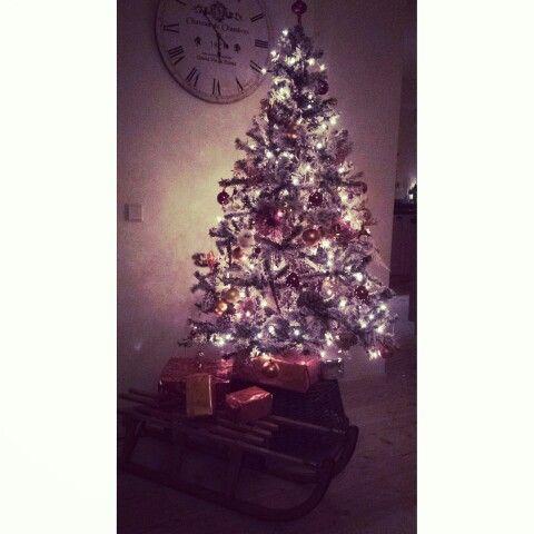 Christmas tree xmas snow