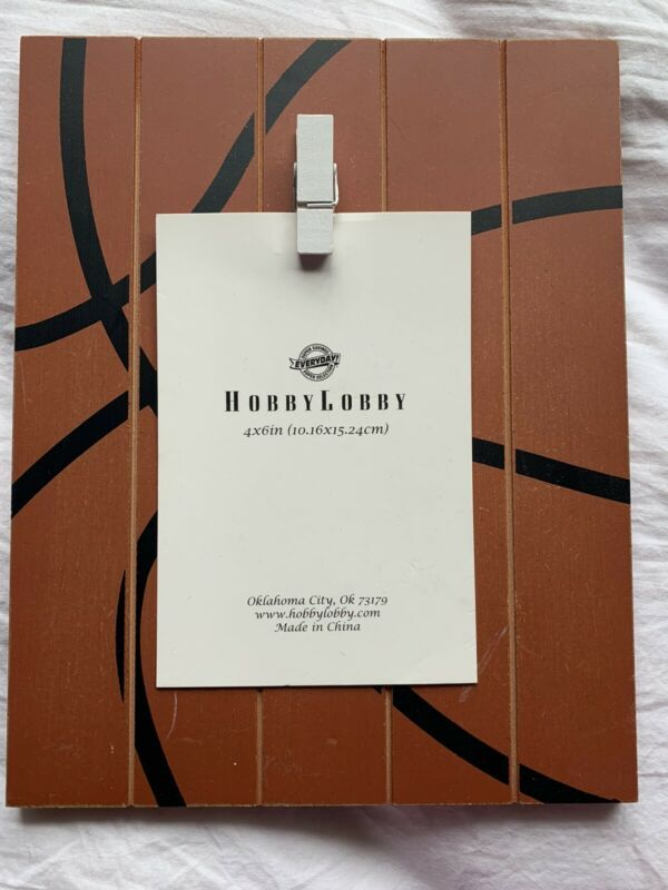Hobby Lobby Photo Frame Easle Stand With Basketball Background New Frames Ebay Link In 2020 Wood Photo Frame Picture Frame Mat Flower Picture Frames